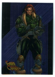 Cyber Force Cyber Optic Card - A1 - Topps 1994 - Rancor