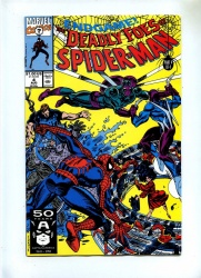 Deadly Foes of Spider-Man 4 - Marvel 1991 - VFN - Final Issue
