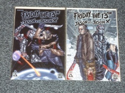 Friday the 13th Jason vs Jason X #1 to #2 - Avatar 2006 - Complete Set