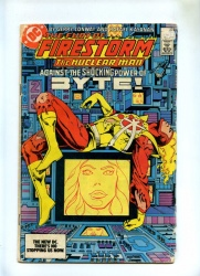 Fury of Firestorm #23 - DC Comics 1984 - 1st App Felicity Smoak Byte