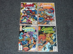 Gambit and the X-Ternals #1 to #4 - Marvel 1995 Complete Set - Age of Apocalypse