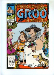 Groo The Wanderer #42 - Marvel 1988 - NM- - Sergio Aragones