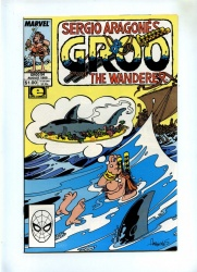 Groo The Wanderer #54 - Marvel 1989 - VFN/NM - Sergio Aragones
