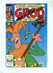 Groo The Wanderer #56 - Marvel 1989 - NM- - Sergio Aragones