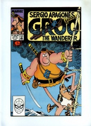 Groo The Wanderer #57 - Marvel 1989 - NM- - Sergio Aragones