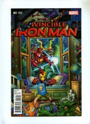 Invincible Iron Man 1 - Marvel 2015 - NM- - Young Guns Variant Cover by Nick Bradshaw