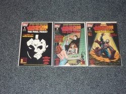 Jason Goes to Hell: The Final Friday #1 to #3 Topps 1993 Set Incls Trading Cards
