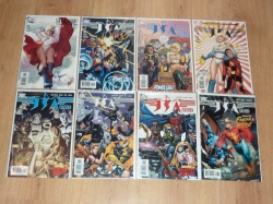 JSA Classified #1 to #16 - DC 2005 - VFN/NM to NM - Full Run - Power Girl Adam Hughes Variant