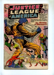 Justice League of America #20 - DC 1963 - Mystery of Spaceman X - GD/VG