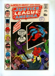 Justice League of America #80 - DC 1970 - VG-