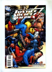 Justice Society of America #10 - DC 2007 - Variant Cover by Dale Eaglesham