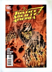 Justice Society of America #15 - DC 2008 - Variant Cover by Dale Eaglesham