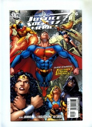 Justice Society of America #6 - DC 2007 - Variant Cover by Phil Jimenez