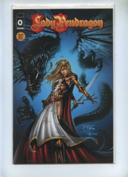 Lady Pendragon 0 - Image 1999 - VFN+ - Dynamic Forces Alternate Cover Ltd Series COA