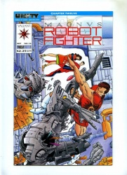 Magnus Robot Fighter #16 - Valiant 1992 - VFN