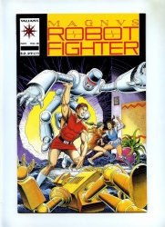 Magnus Robot Fighter #18 - Valiant 1992 - VFN