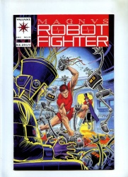 Magnus Robot Fighter #19 - Valiant 1992 - VFN