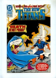 New Titans 83 - DC 1992 - VFN+ - Death of Jericho