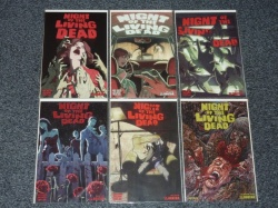 Night of the Living Dead Vol 2 #1 to #5 + Annual #1 Set Avatar 2010 Adults Only