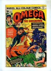 Omega the Unknown #1 - Marvel Comics 1976 - Pence - 1st App Omega
