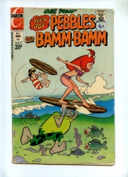 Pebbles and Bamm-Bamm 8 - Charlton 1972 - VG