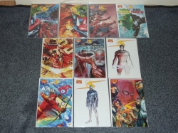 Project Superpowers #0 to #7 - Dynamite 2008 Complete Set Incl 3 x #0s Variants