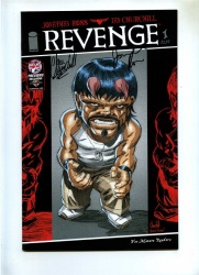 Revenge 1 - Image 2014 - VFN+ - Mature Readers - Previews Exclusive Signed Jonathan Ross and Ian Churchill
