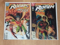 Robin Plus #1 to #2 - DC 1996 - VFN+ to NM- - Complete Set - Impulse Fang