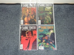 Sabretooth Mary Shelley Overdrive #1 to #4 Marvel 2002 VFN to VFN+ Complete Set