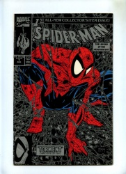 Spider-Man #1 - Marvel 1990 - Todd McFarlane - Green Cover