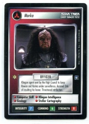 Star Trek CCG Deep Space 9 DS9 - Decipher 1998 - NM to NM-MT - Morka - Personnel - Rare - BB
