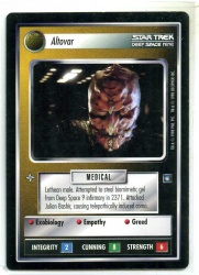 Star Trek CCG Deep Space 9 DS9 - Decipher 1998 - NM - Altovar - Personnel - Rare - BB