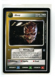 Star Trek CCG Deep Space Nine - Decipher 1998 - Altovar - Personnel: Non-Aligned - Rare - BB