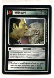 Star Trek CCG First Contact - Decipher 1997 - Borg Kiss - Interrupts - Rare - BB