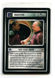 Star Trek CCG The Dominion - Decipher 1998 - Issue Secret Orders - Objectives - Rare - BB