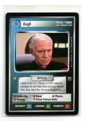 Star Trek CCG The Dominion - Decipher 1998 - Keogh - Personnel: Federation - Rare - BB