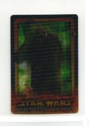 Star Wars Revenge of the Sith Flix-Pix Card - #10 - Topps 2005 - Lenticular