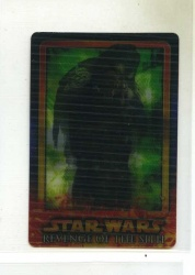 Star Wars Revenge of the Sith Flix-Pix Card - #11 - Topps 2005 - Lenticular