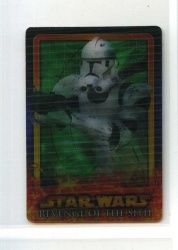 Star Wars Revenge of the Sith Flix-Pix Card - #12 - Topps 2005 - Lenticular