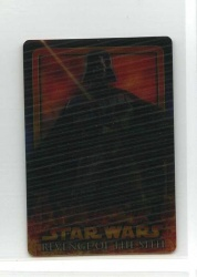 Star Wars Revenge of the Sith Flix-Pix Card - #13 - Topps 2005 - Lenticular