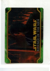 Star Wars Revenge of the Sith Flix-Pix Card - #22 - Topps 2005 - Lenticular