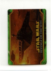 Star Wars Revenge of the Sith Flix-Pix Card - #28 - Topps 2005 - Lenticular