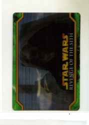 Star Wars Revenge of the Sith Flix-Pix Card - #29 - Topps 2005 - Lenticular