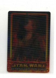 Star Wars Revenge of the Sith Flix-Pix Card - #3 - Topps 2005 - Lenticular