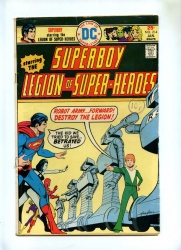 Superboy #214 - DC 1976 - Legion of Super-Heroes
