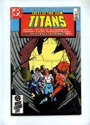 Tales of the Teen Titans 53 - DC 1985 - VFN/NM - 1st Full App Azrael - Deathstroke Cameo