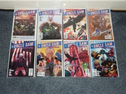 Uncle Sam and the Freedom Fighters #1 to #8 DC 2006 VFN to VFN/NM - Complete Set