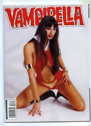 Vampirella Magazine #3 - Harris 2004 - VFN+ - Ltd Alt Photo Cover Kitana Baker