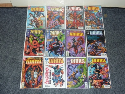 Titans #1 to #12 - DC 1999