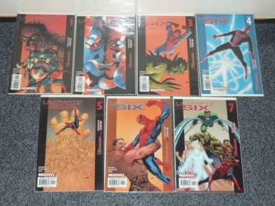 Ultimate Six #1 to #7 - Marvel 2003 - Complete Set